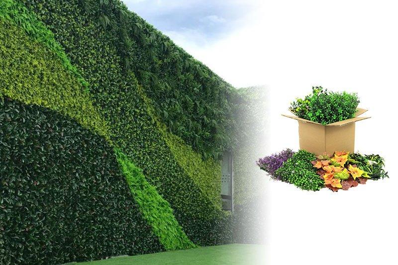 plantas artificiales exterior