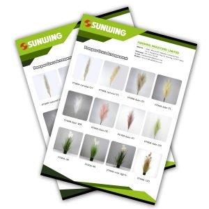Catálogos de hierba de la pampa artificial real de sunwing